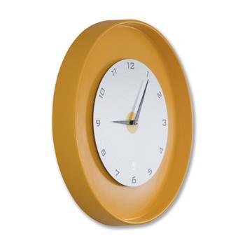 Sy Time Adrasan Duvar Saati (80 cm) Sarı SYT-7331