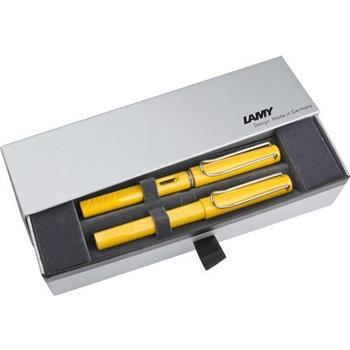 Lamy Safari Dolma Kalem + Roller Kalem Set Sarı 18-m-318