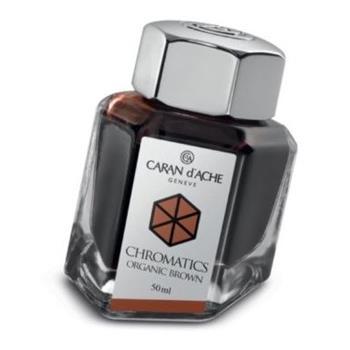 Caran d'Ache Dolma Kalem Mürekkebi 50ml Organic Brown 8011.049