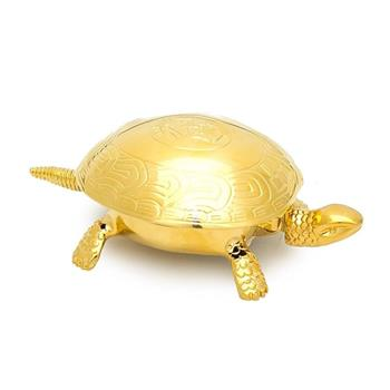 El Casco Dorado Kaplumbağa Şans Zili Altın M-700L