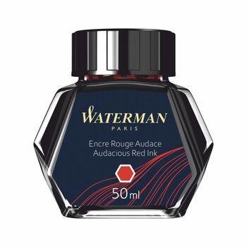 Waterman Dolma Kalem Mürekkebi Şişe Kırmızı S0110730