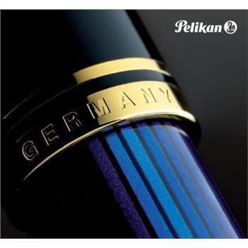 Pelikan Dolma Kalem Souveran Mavi-Siyah M400 (Blue-Black)