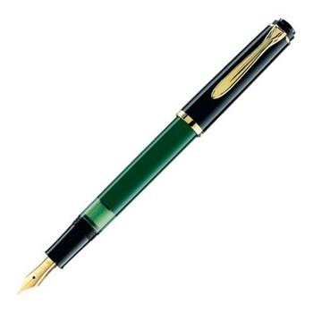 Pelikan Dolma Kalem Klasik Seri M150 Yeşil Siyah