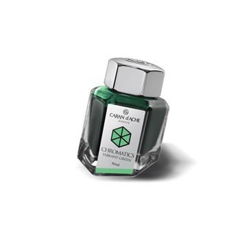 Caran d'Ache Dolma Kalem Mürekkebi 50ml Vibrant Green 8011-210