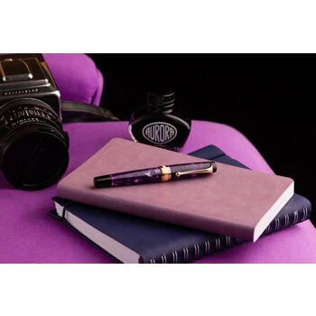 Aurora Optima Purple  Auroloide Dolma Kalem Rose Gold 996-PVL