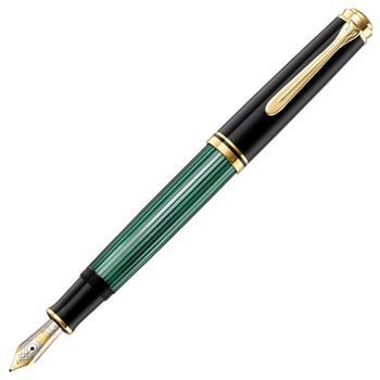 Pelikan Dolma Kalem Yeşil-Siyah M600