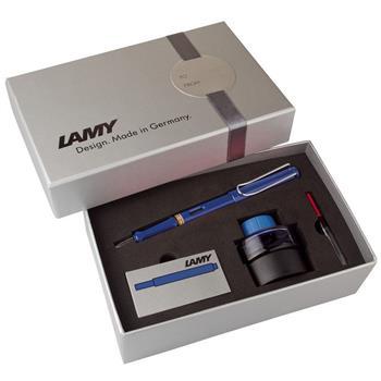 Lamy Dolmak. Safari Mürekkep+Kartuş+Piston Mavi