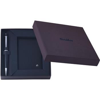 Scrikss 62 Tükenmez Kalem+ Kredi Kartlık Siyah DR-2204-1/2