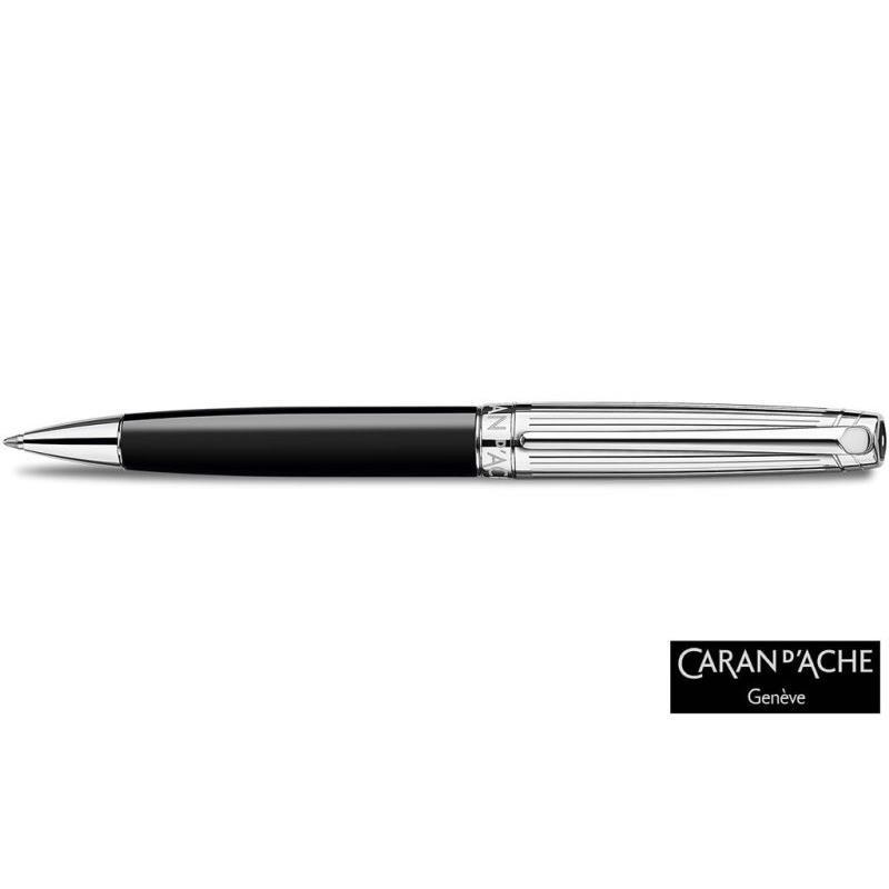 Caran d'Ache Leman Bicolor Black Tükenmez 4789.289