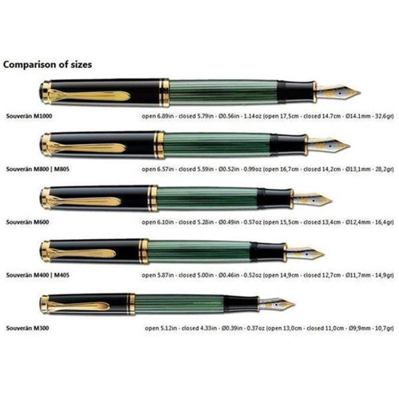Pelikan Dolma Kalem Yeşil-Siyah M800