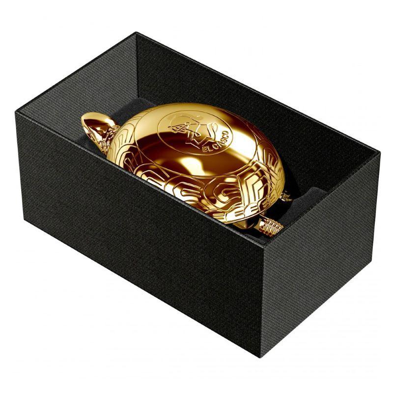 El Casco Dorado Kaplumbağa Şans Zili Altın M-700-L