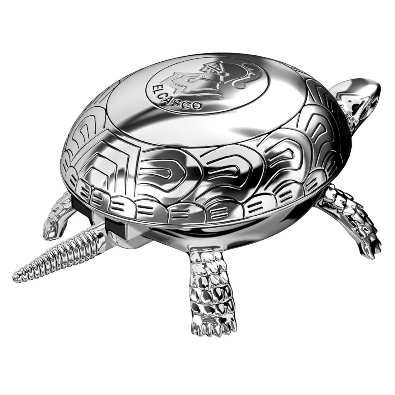 El Casco Cromado Kaplumbağa Şans Zili Krom M-700-CT