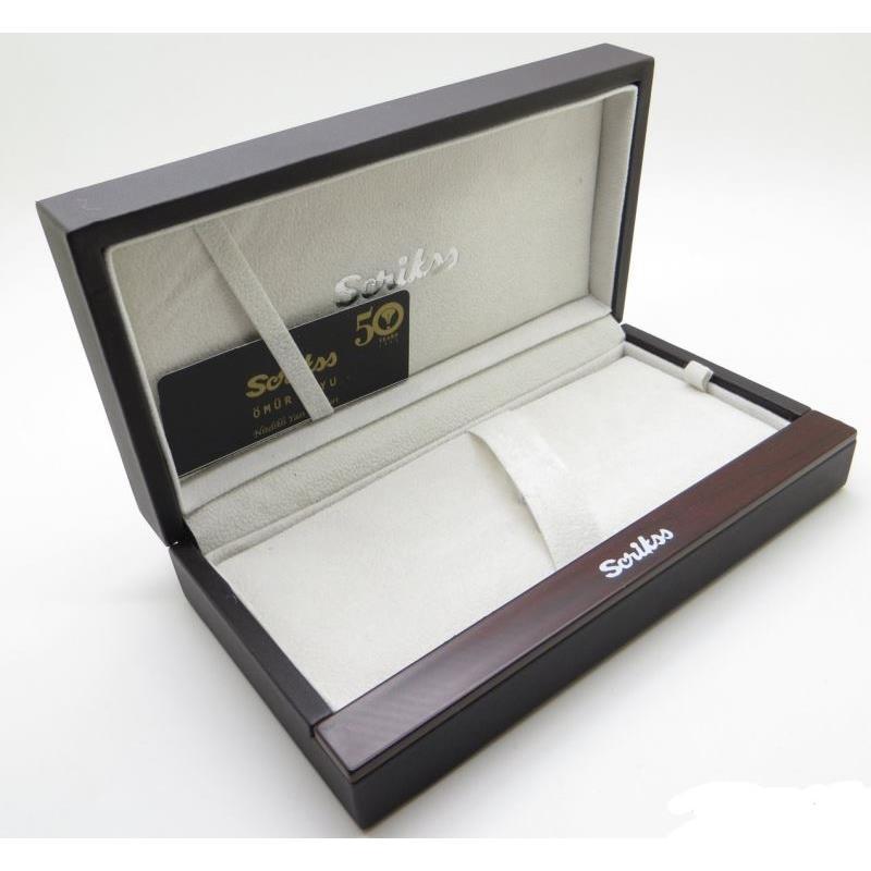 Scrikss 35 Dolma Kalem+Tükenmez+Versatil Set Beyaz Altın