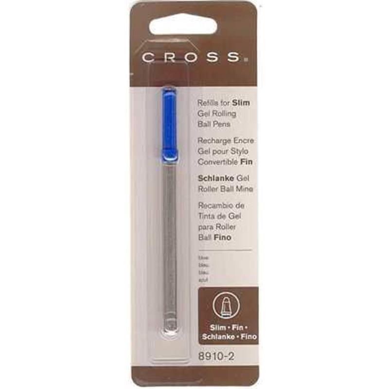 Cross Refil Roller İnce Jel Mavi 8910-2