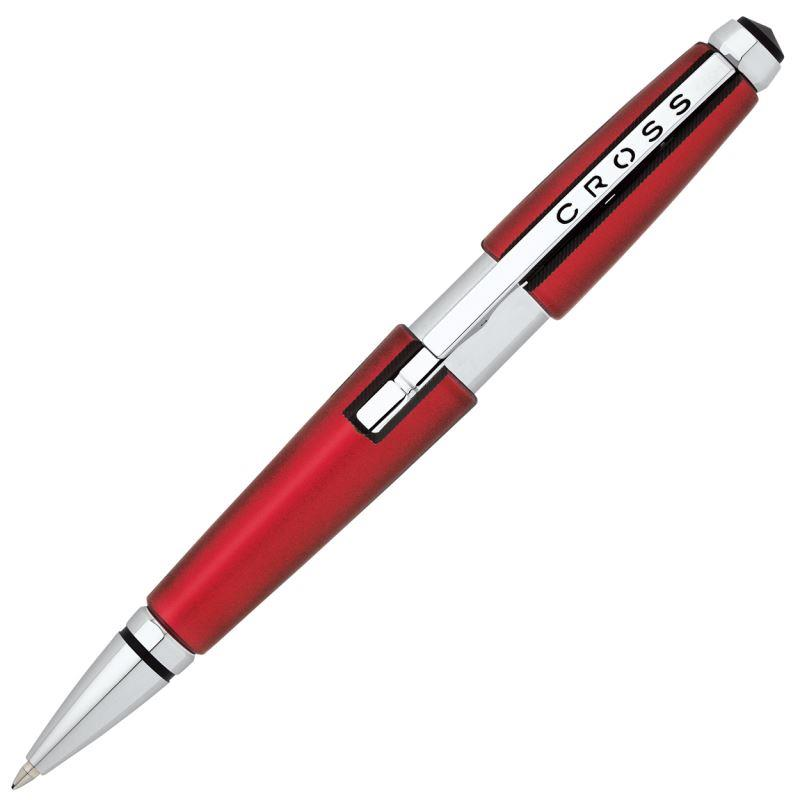Cross Edge Roller Kalem  Kırmızı Krom AT0555-7
