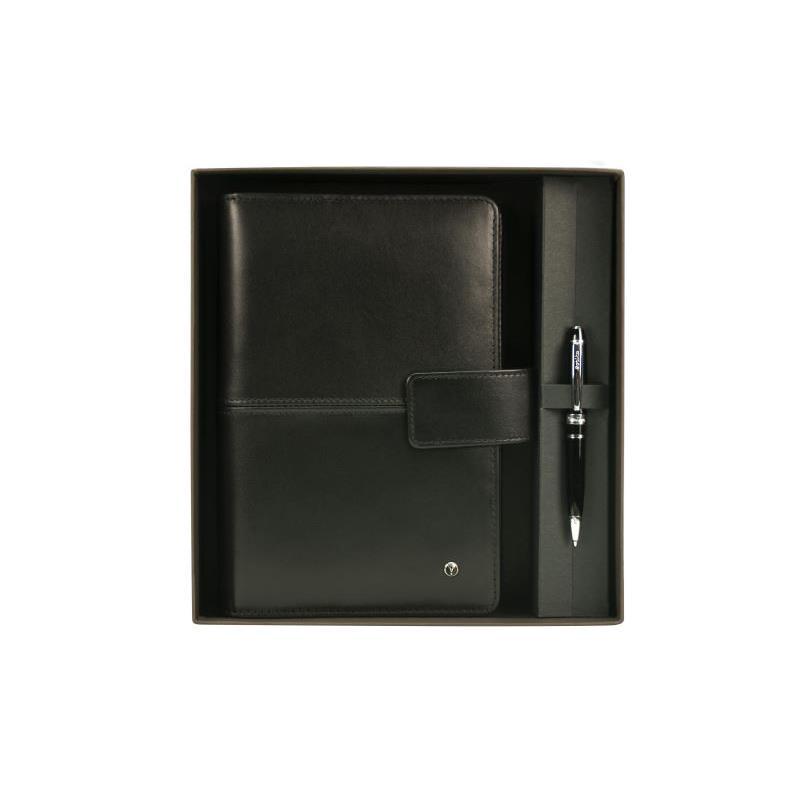 Scrikss Ajanda Medium Soft Deri Siyah  DR-3201-1