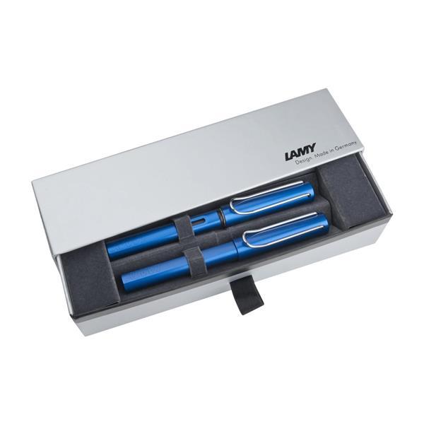 Lamy Al-star Mavi Dolma Kalem + Roller Kalem Set 28m-328