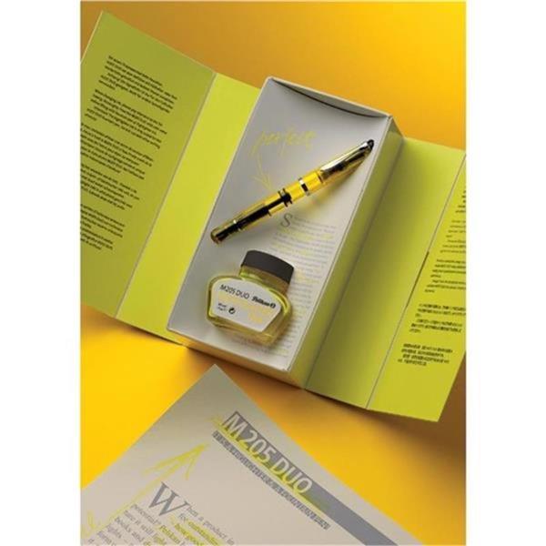 Pelikan Dolma Kalem Highlighter Sarı Şeffaf BB Uç M205