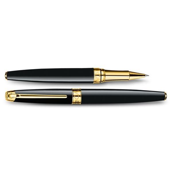 Carandache Leman Ebony Roller Kalem Siyah Altın 4779.282