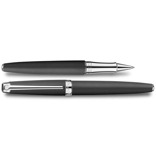 Caran d'Ache Leman Roller Kalem Black Lacquered Mat 4779.496