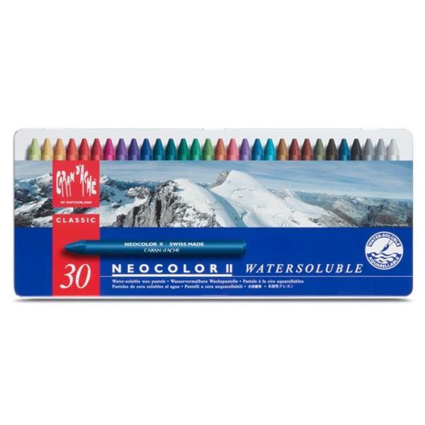 Carandache Neocolor II Pastel Boya 30lu Metal Kutu 7500.330