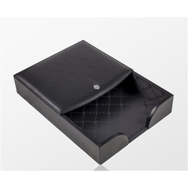 El Casco Kağıtlık Siyah Deri M-718