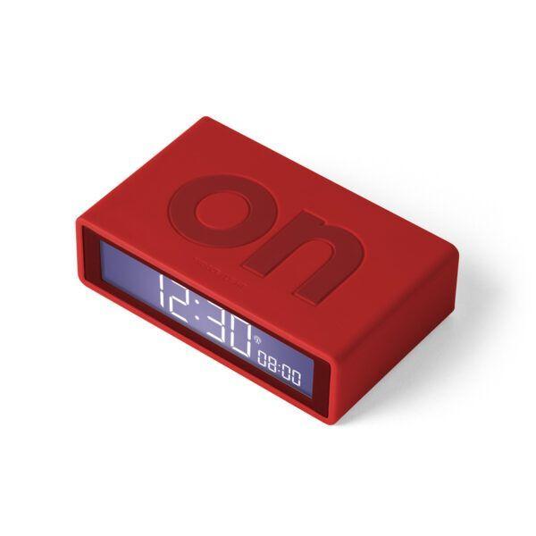 Lexon Flip Mini Plus Alarm Saat Kırmızı LR150R9