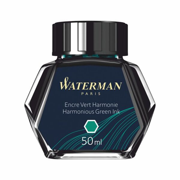 Waterman Dolma Kalem Mürekkebi Şişe Yeşil S0110770
