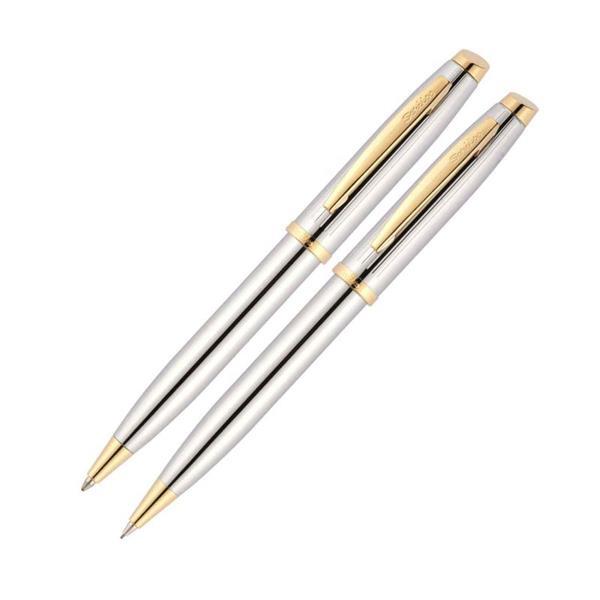 Scrikss Tükenmez Kalem+Versatil 39 Gold Krom Takım