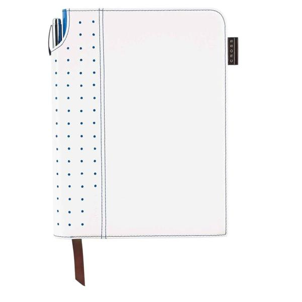 Cross Defter Medium Beyaz/mavi Ac236-6m