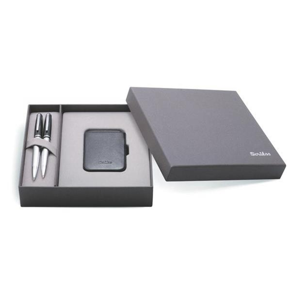 Scrikss 477 Tükenmez Kalem+Versatil Kalem+Kredi Kartlık Dr-210