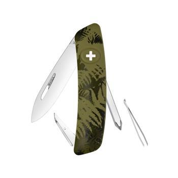 Swiza Lüks İsviçre Çakısı Yeşil Desen C 02