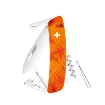 Swiza Lüks İsviçre Çakısı Turuncu Desenli C 03