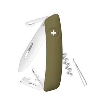 Swiza Lüks İsviçre Çakısı Yeşil D 03