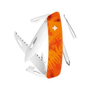Swiza Lüks İsviçre Çakısı Turuncu Desenli C 06