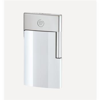 S.T. Dupont E-Slim 7 Çakmak Krom Beyaz 27003