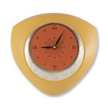 Sy Time Didim Büyük Duvar Saati (100 cm) Sarı SYT-6310