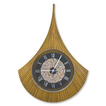 Sy Time Artemis Q Büyük Duvar Saati (120 cm) Sarı SYT-6839