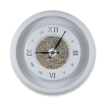 Sy Time Zeugma Q Büyük Duvar Saati (120 cm) Beyaz SYT-8604