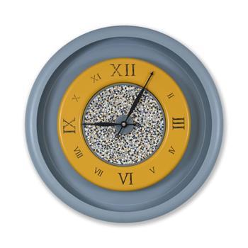 Sy Time Zeugma Q Büyük Duvar Saati (120 cm) Gri SYT-7560