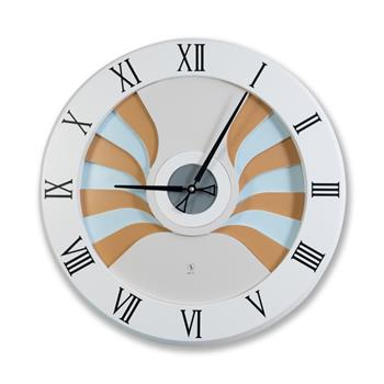 Sy Time Likya Büyük Duvar Saati (140 cm) Beyaz SYT-6259