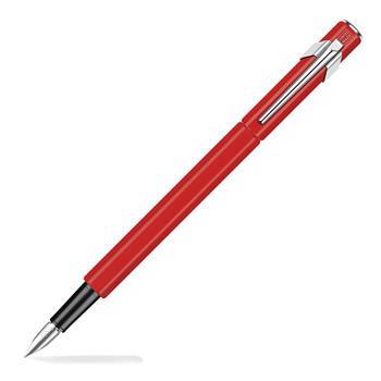 Caran d'Ache 849 Dolma Kalem Medium 840-570 Kırmızı