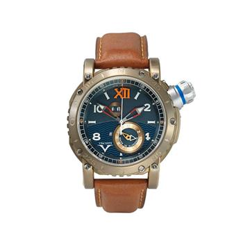 Visconti Grand Cruise Bronze Leather Strap W110-01-143-1411