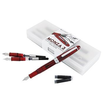 Monteverde Monza 3 Red Dolma Kalem Seti ( Fine-Medium-Omnniflex Uç ) MV36833
