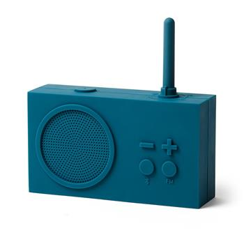 Lexon Tykho 3 Radyo ve Bluetooth Hoparlör Mavi LA119B9