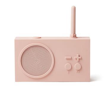 Lexon Tykho 3 Radyo ve Bluetooth Hoparlör Pembe LA119P8