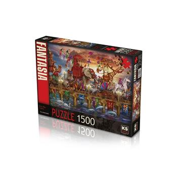 KS Games One Way Traffic 1500 Parça Puzzle 22003
