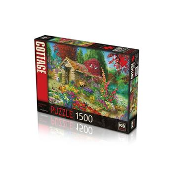 KS Games The Garden Shed 1500 Parça Puzzle 22004