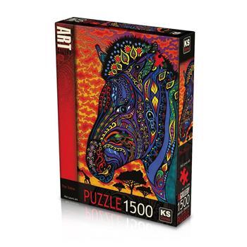 KS Games The Zebra 1500 Parça Puzzle 22006