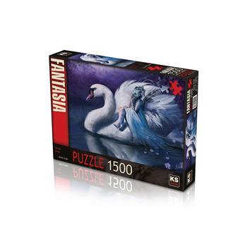 KS Games White Swan 1500 Parça Puzzle 22001